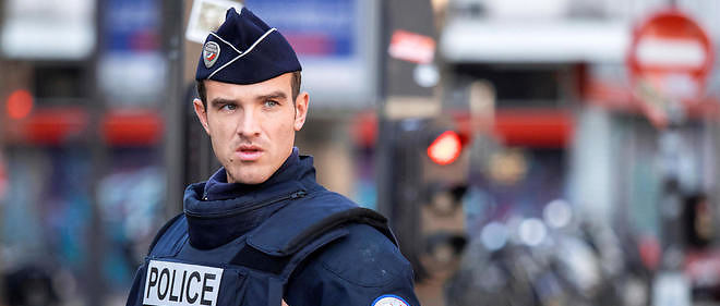 Un policier, photo d'illustration.