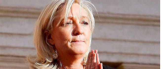 La presidente du FN estime que les frontieres nationales et europeennes sont en question apres les recents evenements.