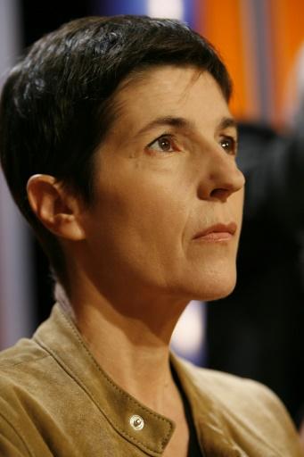 L'auteure Christine Angot, prise le 19 août 2006 à Paris © BERTRAND GUAY AFP/Archives