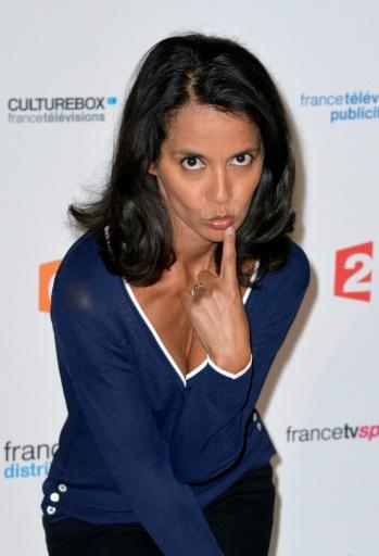 Sophia Aram le 27 août 2015 à Paris © MIGUEL MEDINA AFP/Archives