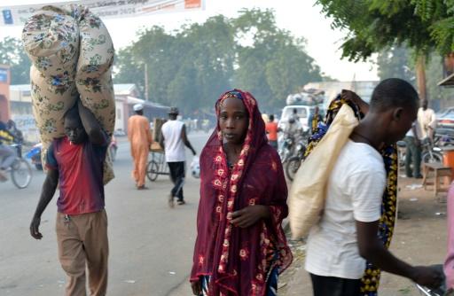 La ville de Maroua au Cameroun, le 11 novembre 2014 © Reinnier KAZE AFP/Archives