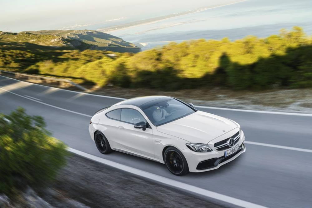 Mercedes-AMG C 63 S Coupé (C 205) 2015 © Daimler AG - Global Communications Mercedes-Benz Cars Mercedes AMG