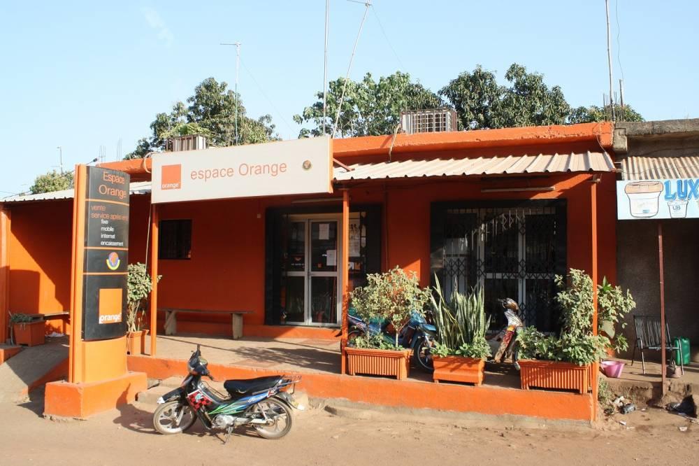 Une boutique d'Orange Mali.  ©  DR