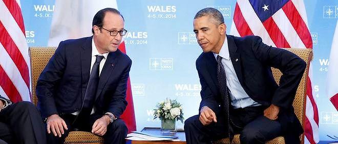 François Hollande et Barack Obama, photo d'illustration.