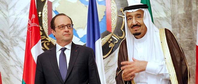 François Hollande et le roi d'Arabie saoudite Salmane ben Abdelaziz Al Saoud, le 5 mai dernier.