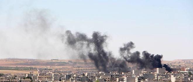 Kobané, où les forces américaines commencent à se déployer, est le théâtre régulier d'affrontements entre les Kurdes et l'État islamique.