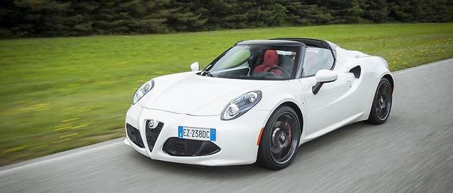 Alfa Romeo élargit la clientèle de la 4C avec cette version Spider.