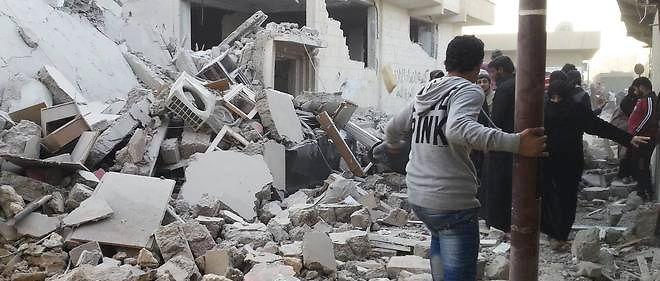 Chef-lieu d'une province agricole, Raqqa est tombée aux mains de l'EI au début de 2014.