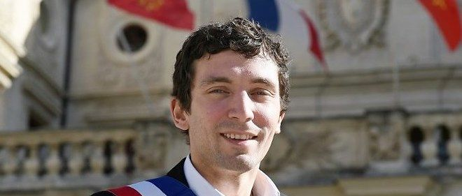 Julien Sanchez, le maire de Beaucaire (Gard).