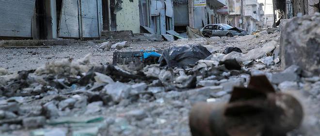 La ville de Kobane dans le nord-est de la Syrie. Image d'illustration.