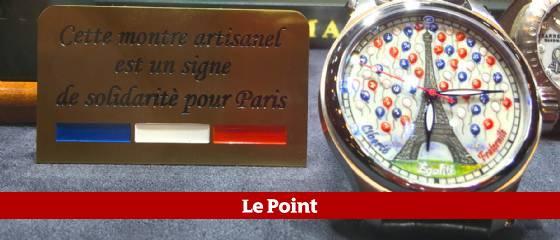 Les belles montres rendent hommage à Paris