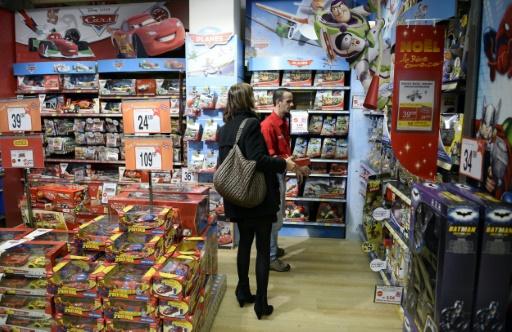 Un magasin de jouets, le 5 décembre 2013 à Paris © FRANCK FIFE AFP/Archives
