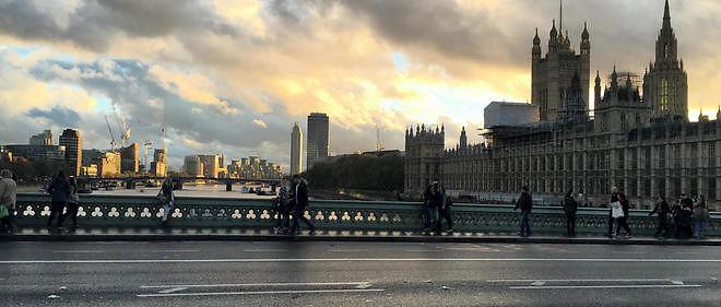 Le pont de Westminster à Londres.