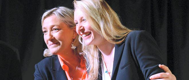 Marine Le Pen et sa nièce, Marion Maréchal-Le Pen, pourraient remporter les régions dans lesquelles elles se sont respectivement présentées.