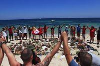 Après la tuerie de Sousse l'été dernier, l'attentat contre la garde présidentielle a prouvé que les djihadistes pouvaient frapper n'importe qui n'importe où. ©Yassine Gaidi