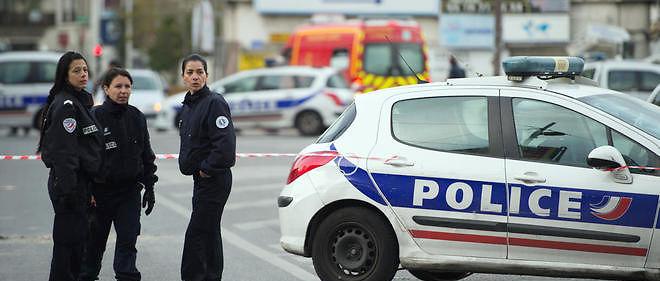 Une voiture de police à Marseille.