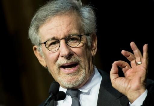 Steven Spielberg le 7 mai 2014 à Los Angeles © BRENDAN SMIALOWSKI AFP/Archives
