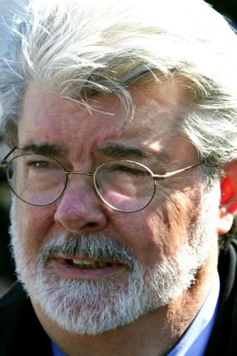 George Lucas à Washington le 13 février 2004 © PAUL J. RICHARDS AFP/Archives