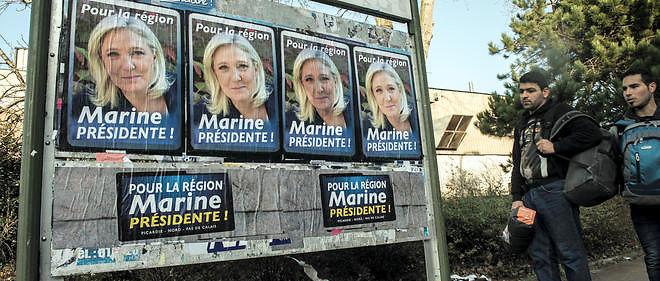 Le Front national est arrivé premier au soir du premier tour des élections régionales.