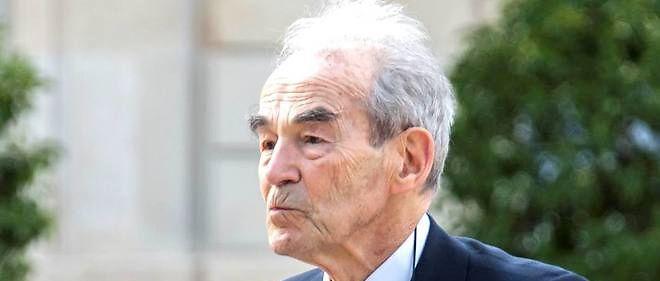 L'ancien garde des Sceaux, Robert Badinter, a lancé un appel à ne pas voter FN.