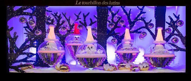 Image Vitrine Noel.Noel Dans Les Coulisses Des Vitrines Des Grands Magasins