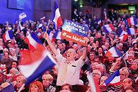 Des sympathisants du FN à un meeting de Marion Maréchal Le Pen à Toulon le 1er décembre. ©BORIS HORVAT