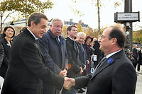 On dit Sarkozy jamais meilleur que dans l'adversité. C'est le moment de le prouver. ©ERIC FEFERBERG