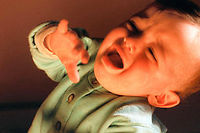 Que faire quand un bébé pleure ? ©LEVY BRUNO/SIPA