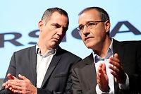 Gilles Simeoni et Jean-Guy Talamoni sont les deux meneurs de la liste victorieuse des élections territoriales en Corse. ©PASCAL POCHARD-CASABIANCA