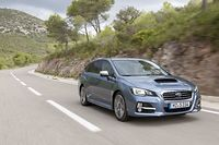 La Subaru Levorg est un break de 4,69 m de long, concurrent des