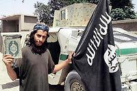 Abdelhamid Abaaoud, cerveau présumé des attentats du 13 novembre, à Paris.