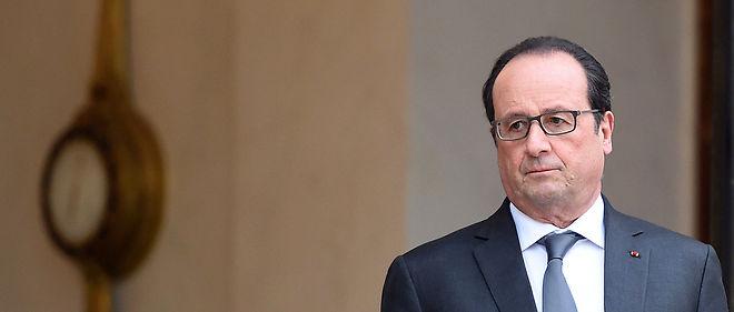 François Hollande perd 3 points en popularité. Image d'illustration.