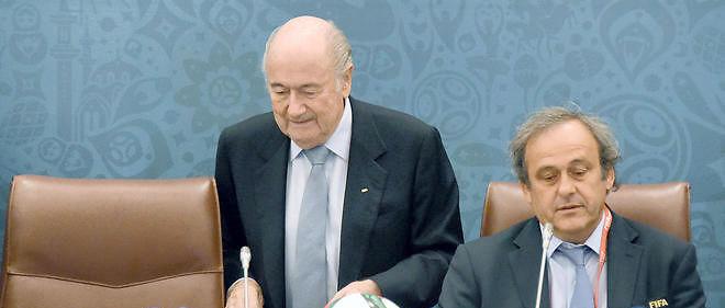 Michel Platini et Sepp Blatter sont empêtrés dans des affaires de corruption. Image d'illustration.