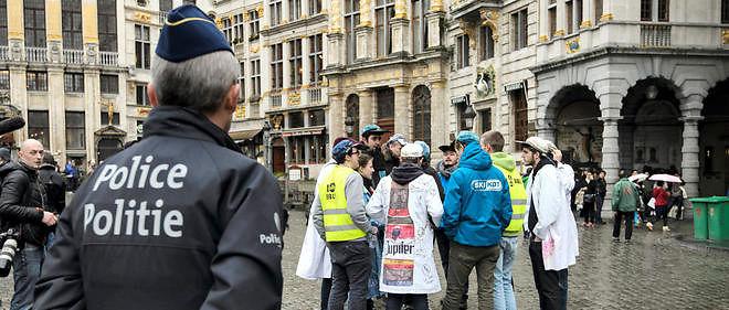 Une opération de police a eu lieu à Bruxelles. Image d'illustration.