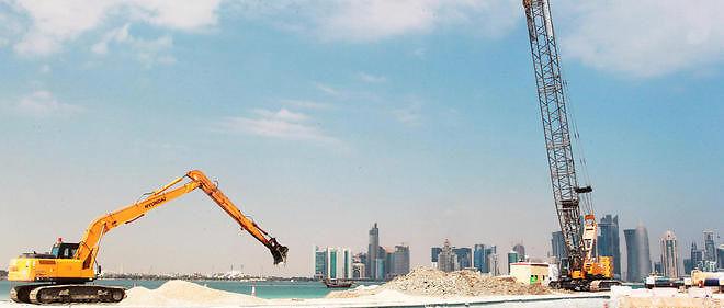 Les travaux autour des sites du Mondial 2022 font polémique. Image d'illustration.