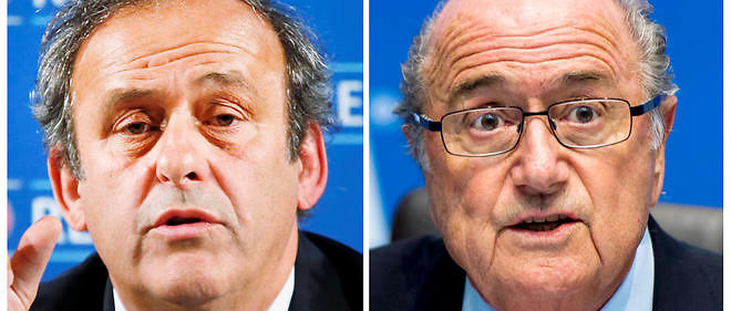 Michel Platini et Sepp Blatter sont suspendus huit ans. Image d'illustration.