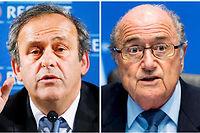 Michel Platini et Sepp Blatter sont suspendus huit ans. Image d'illustration. ©VALERY HACHE, VALERY HACHE