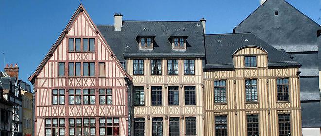 Les corps des deux jeunes gens ont été retrouvés dans le Vieux Rouen. Image d'illustration.