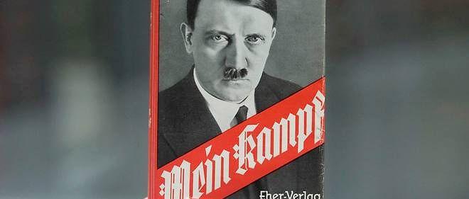 """""""Mein Kampf"""" tombera dans le domaine public dès janvier 2016."""