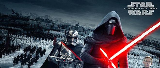 """Le nouvel épisode de """"Star Wars"""", """"Le réveil de la Force"""", a récolté 529 millions de dollars dans le monde."""