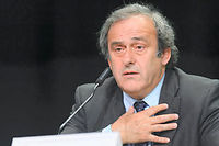 Michel Platini, suspendu 8 ans de toute activité liée au football, va faire appel auprès du TAS. ©FABRICE COFFRINI