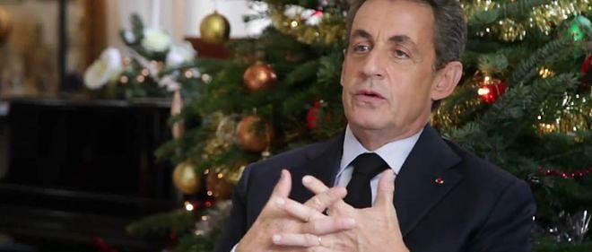 Si l'Élysée et Matignon ont zappé les voeux de Noël, cela n'a pas été le cas de Nicolas Sarkozy.