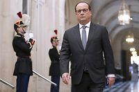 François Hollande en chef de guerre, ici au congrès, le 16 novembre. ©MICHEL EULER