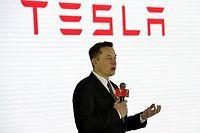 Elon Musk l'affirme, si la législation le permet, Tesla sera en mesure de commercialiser une voiture autonome dès 2018. ©Xiao xiao