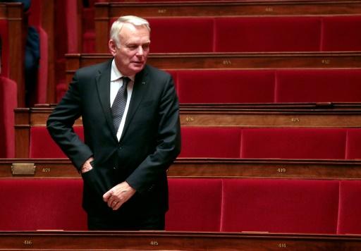 Jean-Marc Ayrault à l'Assemblée nationale le 4 novembre 2015, à Paris © JACQUES DEMARTHON AFP/Archives