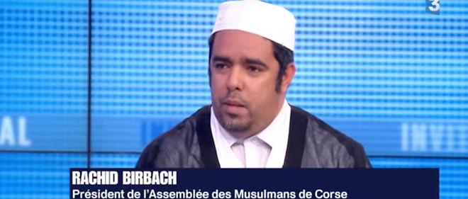 """Rachid Birbach n'a fondé qu'une association nommée """"Assemblée des musulmans de Corse"""" dont les statuts ont été déposés le 26 octobre dernier."""