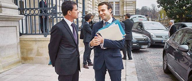 Manuel Valls (ici, le 12 novembre, au Sénat) avait milité pour la nomination d'Emmanuel Macron à Bercy. C'est désormais le ministre de l'Économie qui fait figure d'électron libre.