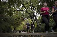 Pour reprendre une activité physique, fixez-vous des objectifs réalistes(photo d'illustration). ©FRED DUFOUR
