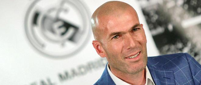 Zinédine Zidane a été nommé entraîneur du Real Madrid le 4 janvier 2016