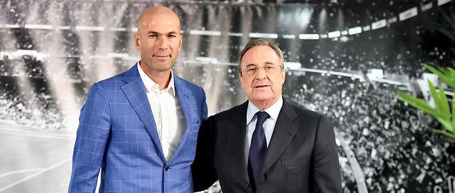 L'ancien meneur de jeu des Bleus a été nommé entraîneur du Real Madrid par Florentino Perez.